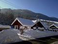 Apartmány Jánošíkové diery Terchová - Exteriér zima